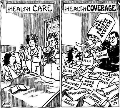What I've Learned about Single Payer HeathCare
